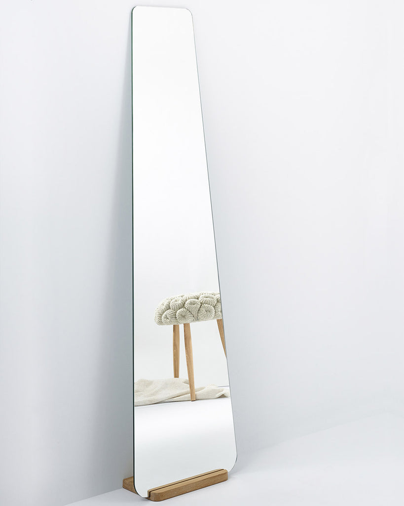 elisabeth  full length wall mirror with wooden stand  free delivery - elisabethfulllengthwallmirrorwithwoodenstand
