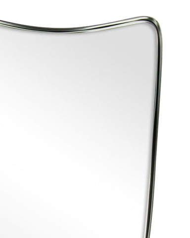 Fellie - Shield Shaped Metal Framed Wall Mirror H:60cm-detail