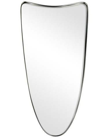 Fellie - Shield Shaped Metal Framed Wall Mirror H:60cm