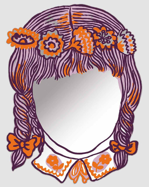 fille-printed-face-modern-wall-art-mirror-h-47cm