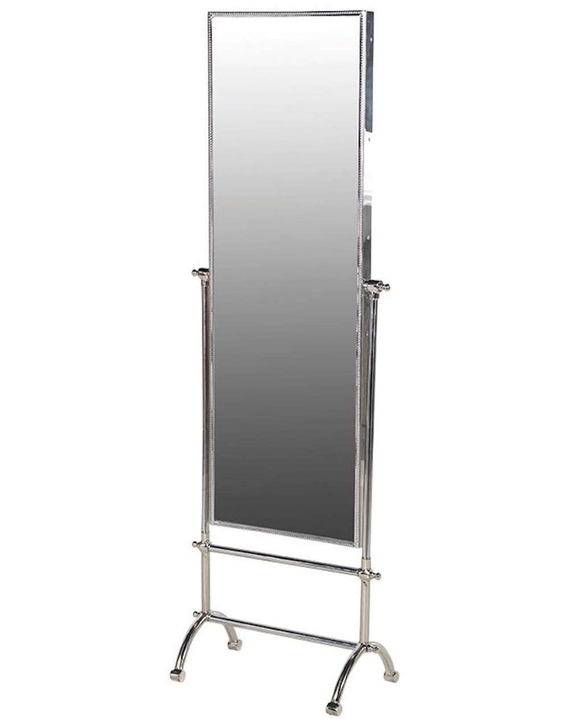 Attractive Full Length Cheval Mirror (Metal Frame & Stand) | Free Delivery TI47