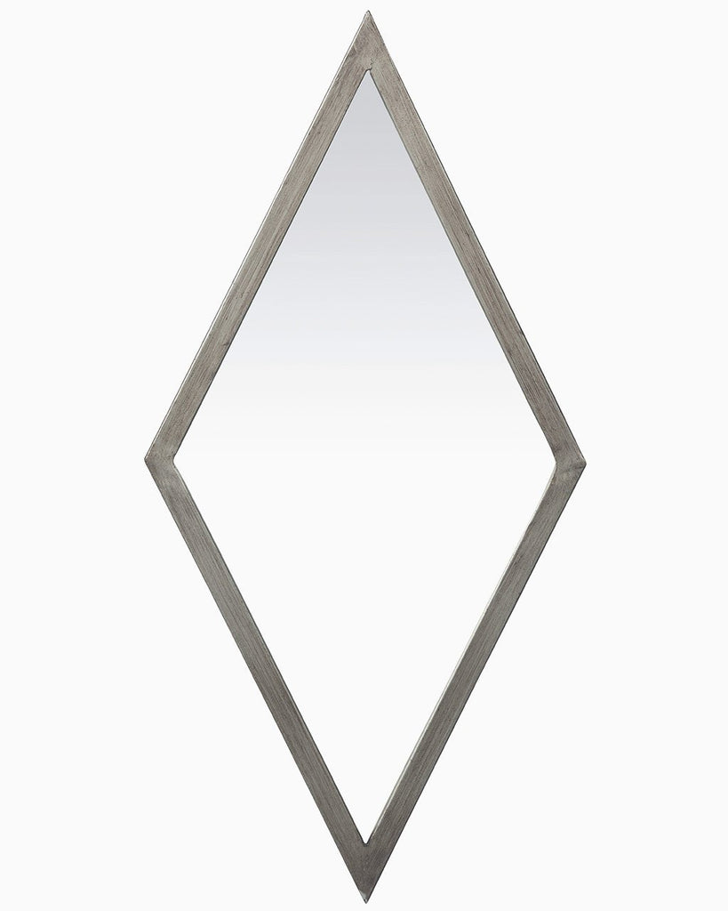 Gatsby - Diamond Shaped Wall Mirror (Metal Frame) | Free Delivery