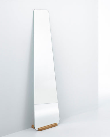 Elisabeth - Full Length Wall Mirror with Wooden Stand H:170cm