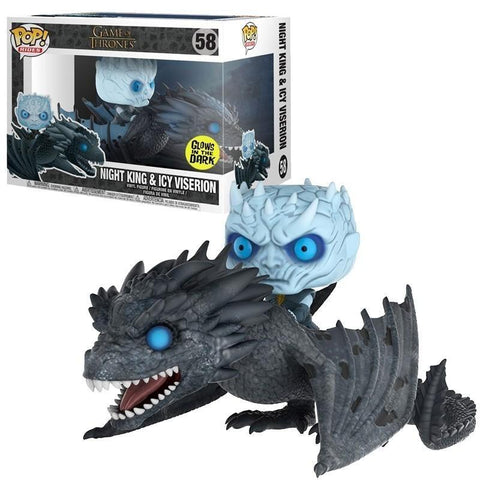FIGURAS DE COLECCION GAME OF THRONES NIGHT KING EN ICY VISERION - Regalos Ecuador