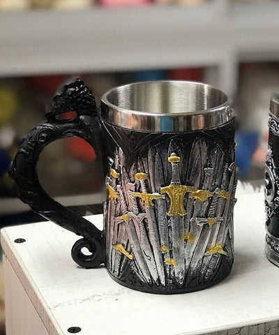 Taza de aluminio Game of Thrones - Regalos Ecuador