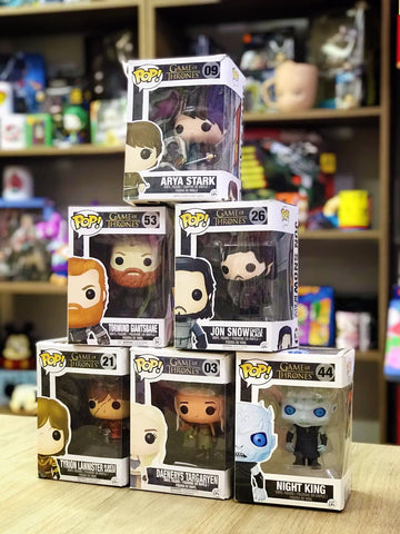 FIGURAS DE COLECCION GAME OF THRONES