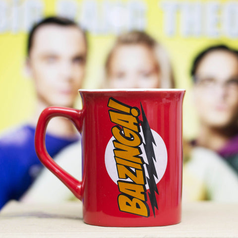 Jarro Bazinga, The Big Bang Theory - Regalos Ecuador