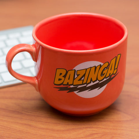 Jarro Bazinga Jumbo, The Big Bang Theory - Regalos Ecuador