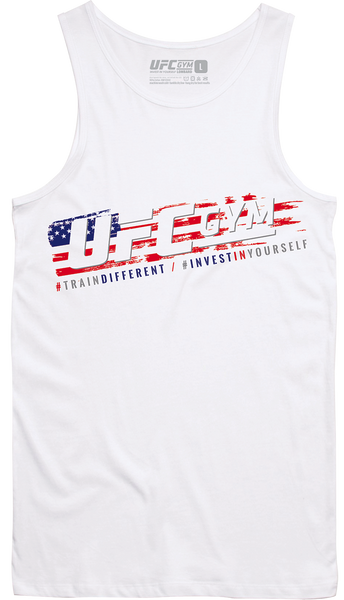 UFC GYM CHICAGOLAND: 4th of July Slanted Tank