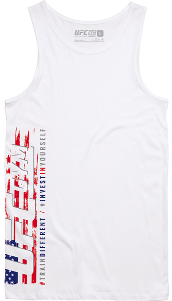 UFC GYM CHICAGOLAND: 4th of July Side Print Tank