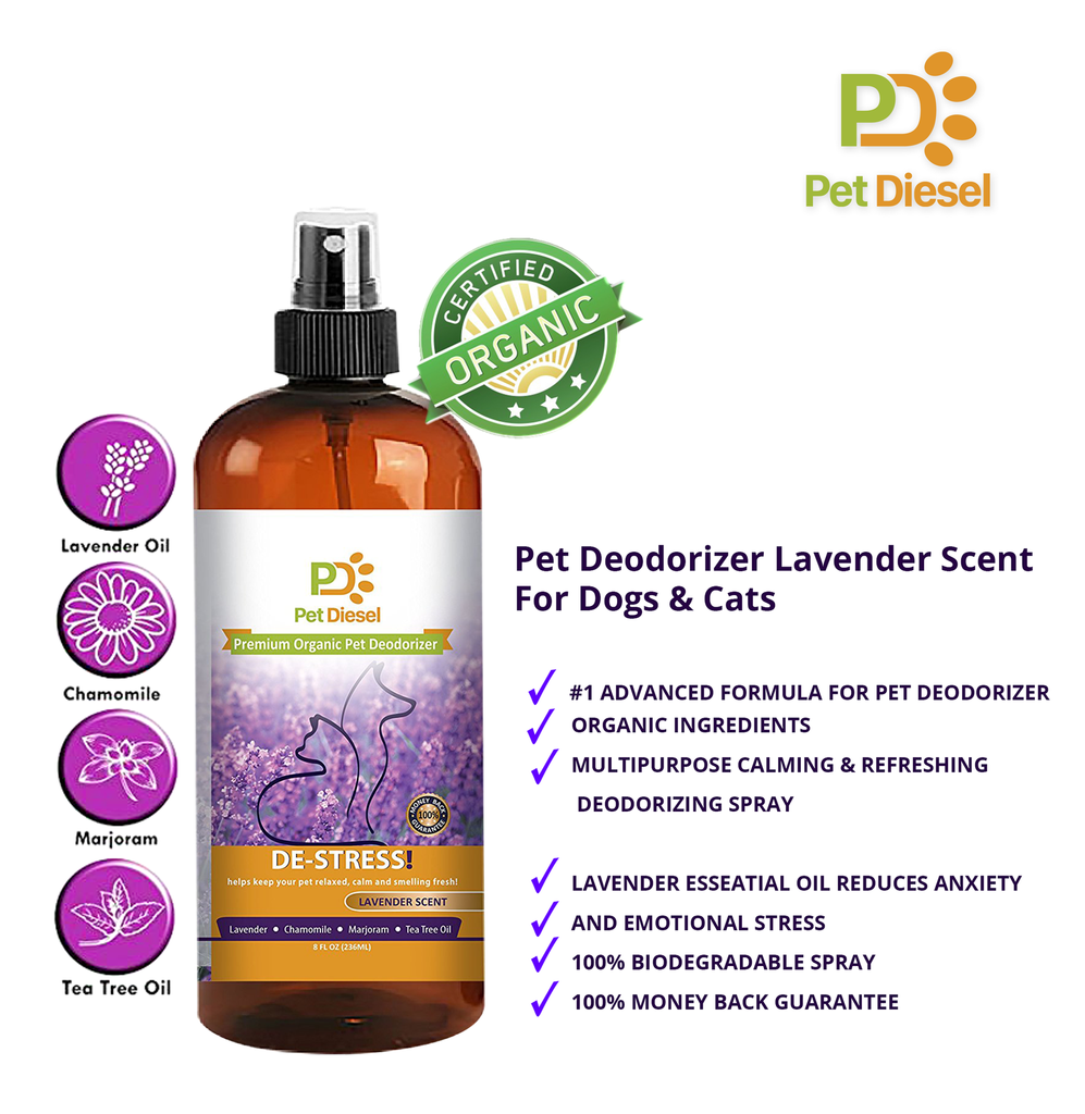 Why use organic pet deodorizer