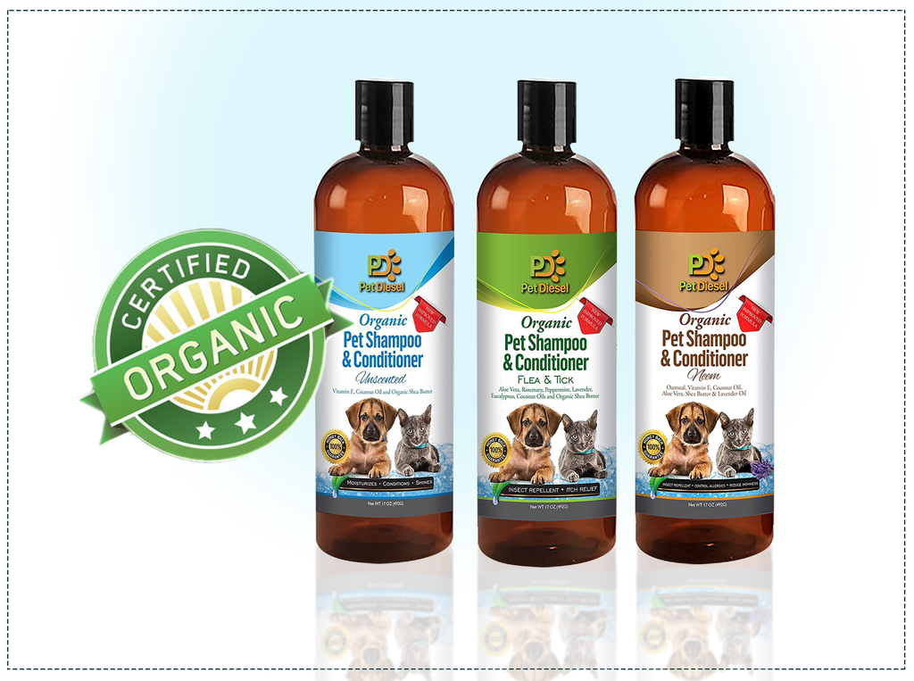 Organic Pet Shampoo & Conditioner