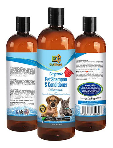 [petfood], [pet sampoo], [pet deodorizer], [dog eye tear stain build up remover], [flea and tick repellent and infestation control spray] - Pet Diesel