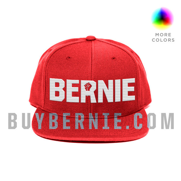Bernie Fists Wool Snapback Hat