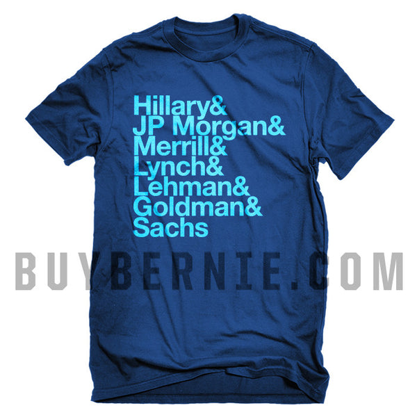 Hillary & Wall St. T-Shirt (Ultramarine Blue)