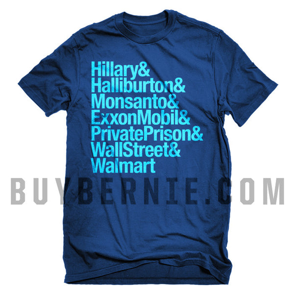 Hillary & Constituents T-Shirt (Ultramarine Blue)