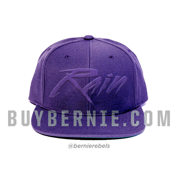 Purple Rain Wool Snapback Hat (Limited Edition)