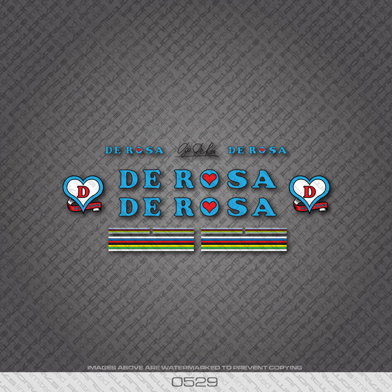 De Rosa Bicycle Decals - www.bicyclestickers.co.uk - 2