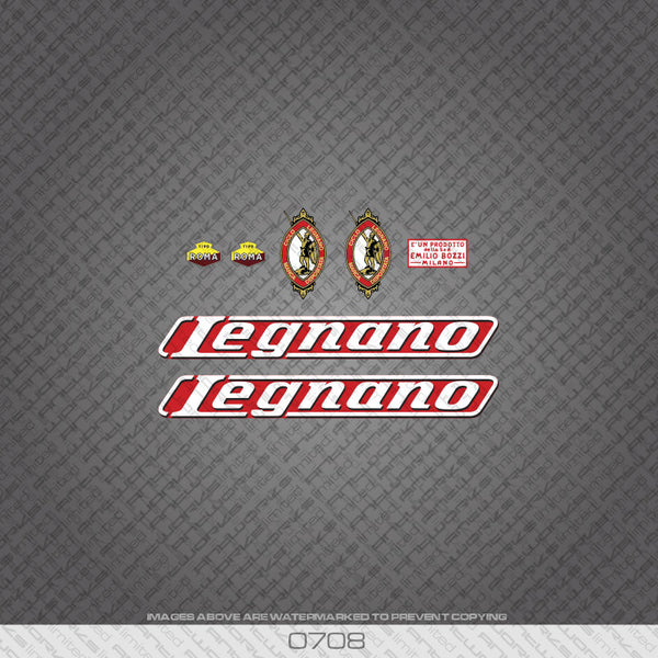 Legnano Bicycle Decals - www.bicyclestickers.co.uk
