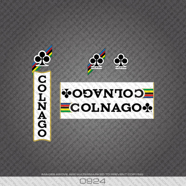 Colnago Nuovo Mexico Bicycle Decals