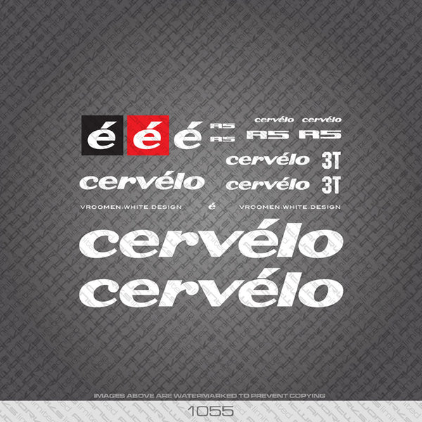 Cervelo R5 Bicycle Decals - www.bicyclestickers.co.uk
