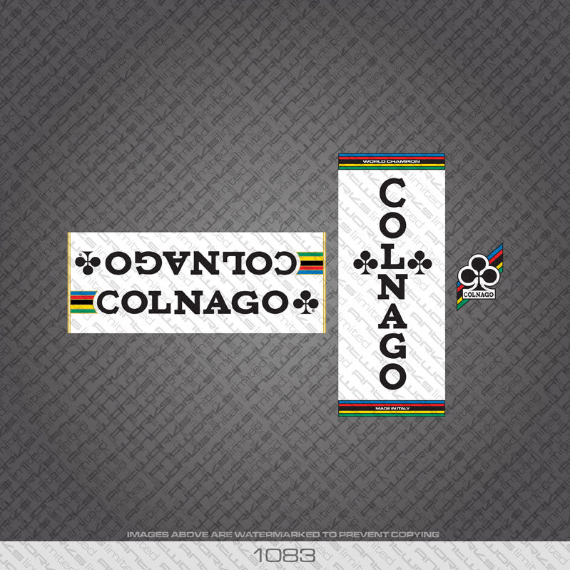 Colnago Bicycle Decals - www.bicyclestickers.co.uk