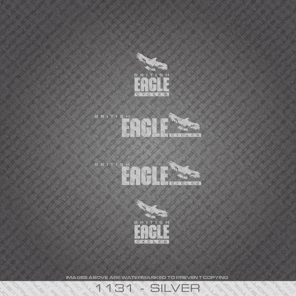 British Eagle Bicycle Decals.