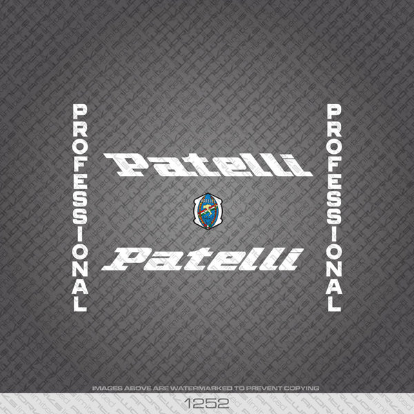 Patelli Professional Bicycle Decals - www.bicyclestickers.co.uk - 1