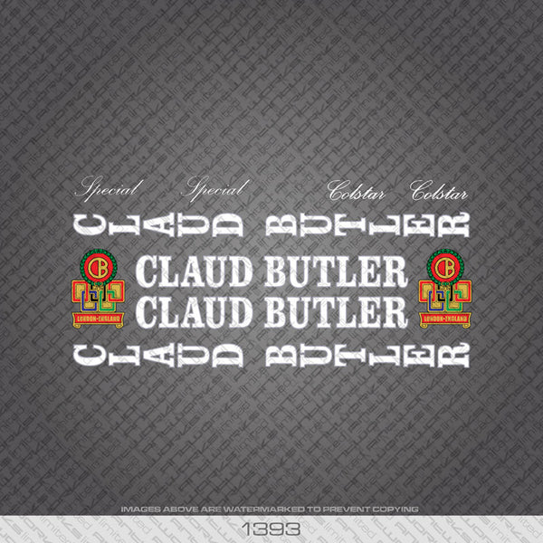 Claud Butler (1393) Decals - www.bicyclestickers.co.uk