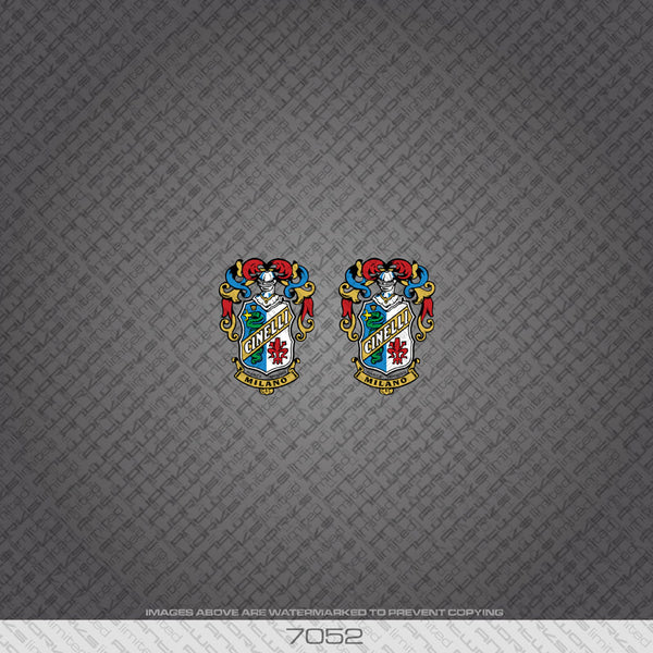 Cinelli Coat of Arms Head Badge Bicycle Decals