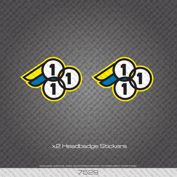 3Rensho Bicycle Head badge Decals