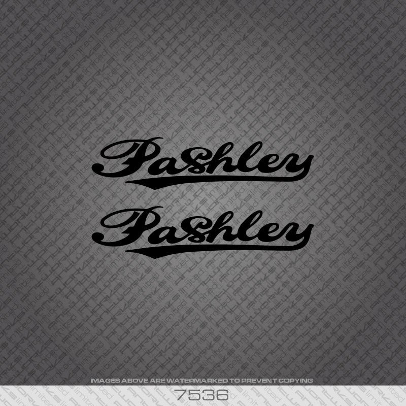 Pashley Down Tube x 2 Bicycle Decals