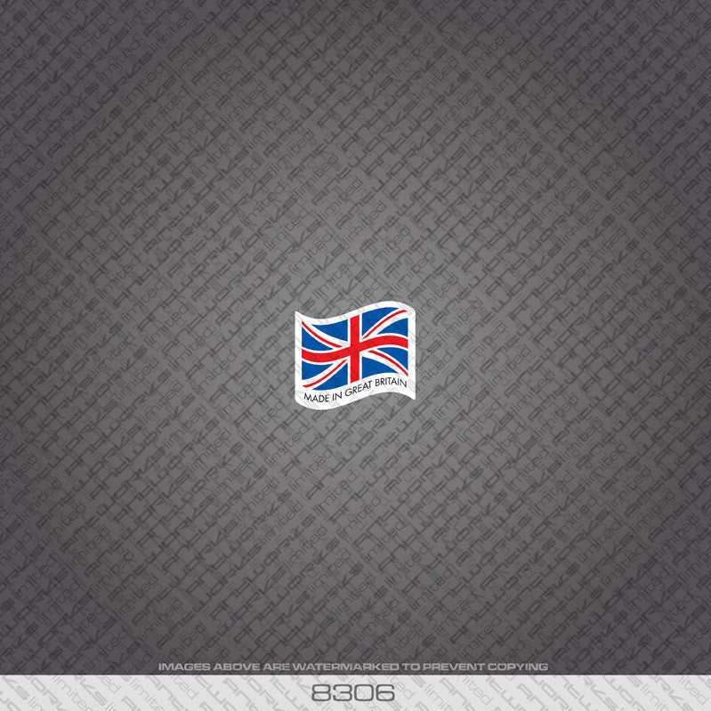 British - Made In Britain Bicycle Frame Tubing Decal - www.bicyclestickers.co.uk - 7