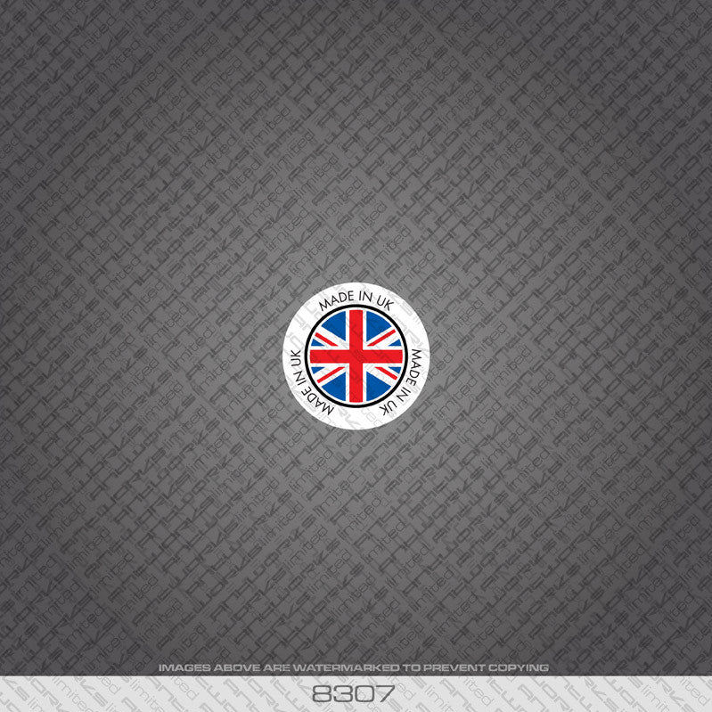 British - Made In Britain Bicycle Frame Tubing Decal - www.bicyclestickers.co.uk - 8