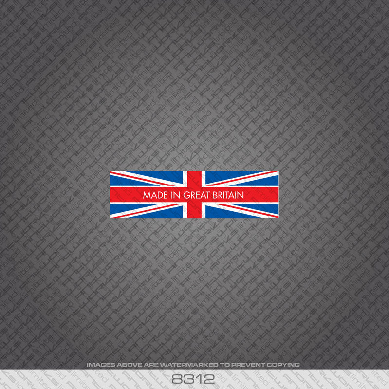 British - Made In Britain Bicycle Frame Tubing Decal - www.bicyclestickers.co.uk - 13