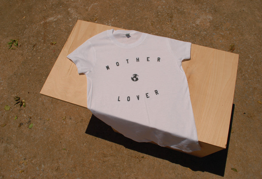 Mother Lover Earth tee t-shirt at Reference Point