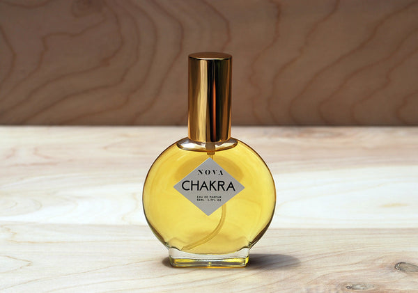 NOVA Chakra eau de parfum 50ml bottle at Reference Point