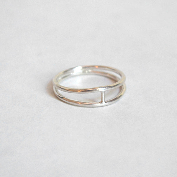 Drift/Riot Silver Spacer Ring at Reference Point