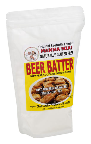 Mamma Mia! Beer Batter Fry Mix (naturally gluten free)