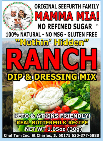 5LB Nuthin' Hidden Ranch Bulk Pack