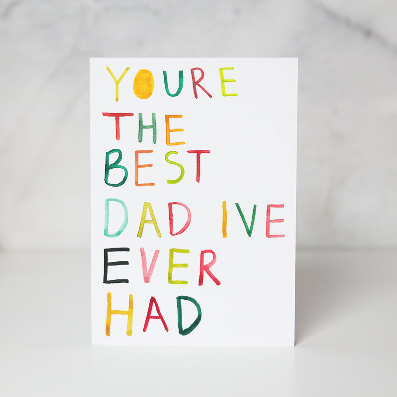 Wunderkid | Best Dad Ever Card