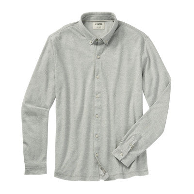 Linksoul | Double Knit Dry-Tech Button Down Long Sleeve