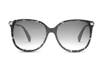 TOMS Eyewear | Sandela 201 - Black-Clear Tortoise/Grey Black