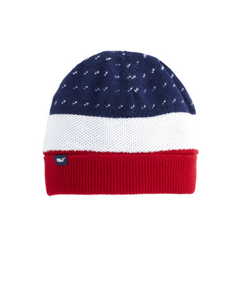 Vineyard Vines | Americana Knit Hat