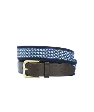 Vineyard Vines | Vineyard Whale Canvas Club Belt