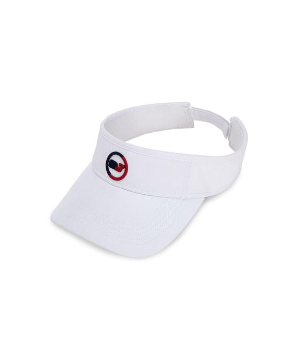 Vineyard Vines | Two-Tone Whale Dot Low Profile Performance Visor