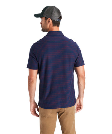 Vineyard Vines| Reverse Feeder Stripe Short Sleeve Edgartown