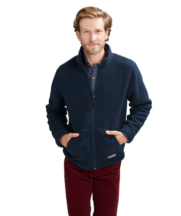 Vineyard Vines | Stillwater Sherpa FZ Jacket