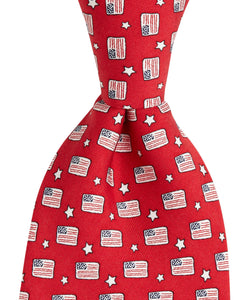 Vineyard Vines | Flags & Stars Tie