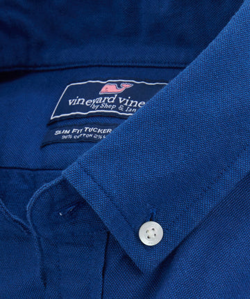 VIneyard Vines | Solid Oxford Slim Tucker Shirt